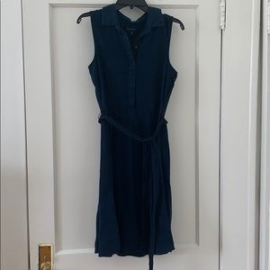 Banana Republic Jean Tie-front Dress